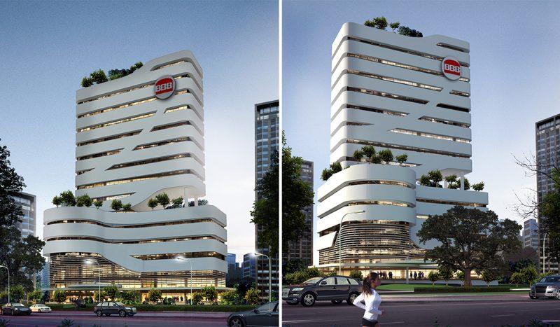 Bangun Bejana Baja Office Tower