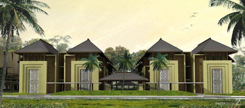 Executive Housing Building - View 1