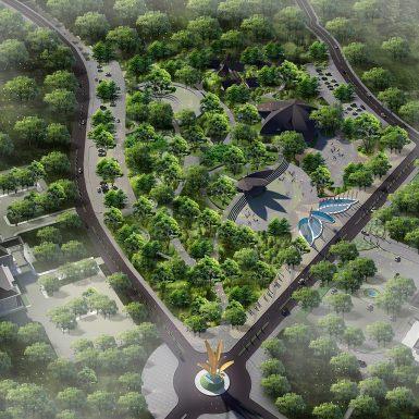 Master Plan Aerial View 1