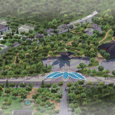 Master Plan Aerial View 2
