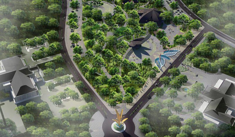 Namrole City Park, Maluku