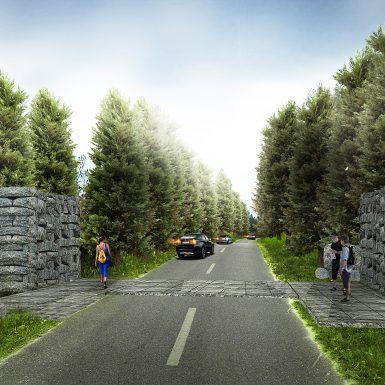001 - Gerbang Kawasan dari Dolok Sanggul AFTER