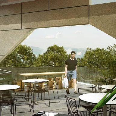 Kualanamu Transit Hotel - View Restoran 3