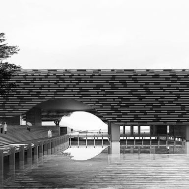 Masjid Apung Ancol (2)